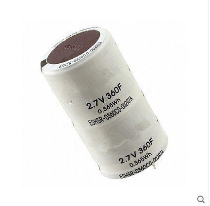 24PCS-2PCS 2.7V 360F 2.7V360F 360F 36*64MM Super capacitor  farad capacitor