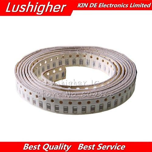 100pcs 1206 1nF 1000pf 102K 250V X7R Error 10% SMD Ceramic Capacitor