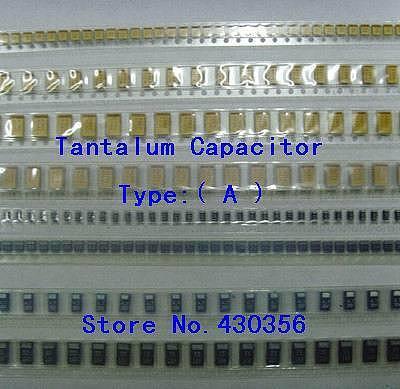 10PCS  Tantalum Capacitor  Type:A    105  1UF  16V  105C