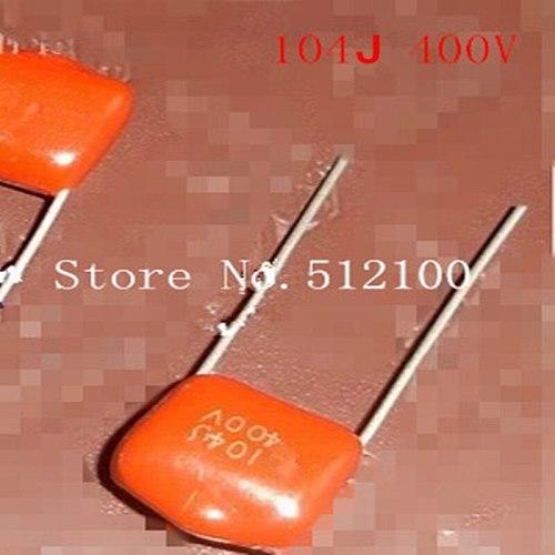 capacitance 104/400V  0.1 UF 104j/400