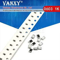 300PCS 0603 Chip Fixed Resistor SMD Resistor 1% 10K ohm 103