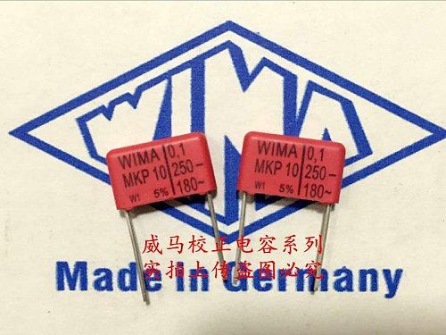 2020 hot sale 10pcs/20pcs Germany WIMA MKP10 250V 0.1UF 250V 104 P: 15mm Audio capacitor free shipping