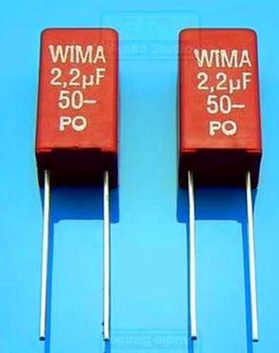 Free Shipping!!!  New / tonic / red WIMA 2.2uF capacitor