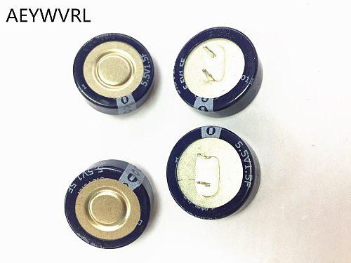 5PCS farad capacitor super capacitor 5.5V 0.1F 0.22F 0.33F 0.47F 1F 1.5F C
