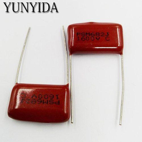 Free Shipping 10pcs CBB Polypropylene film capacitor 1600V 682J  472J 222J 102J 473J 104J