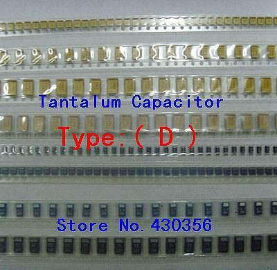 10PCS  Tantalum Capacitor  7343  Type:D  687  680UF 6V