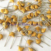 100pcs/lot  Multilayer ceramic capacitor 102 50V 1nF 102M P=5.08mm
