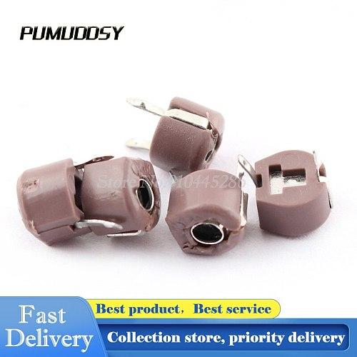 20PCS/LOT Trimmer Capacitor  Adjustable Capacitor DIP Capacitance 10P 10PF 6mm JML06-1 DIP
