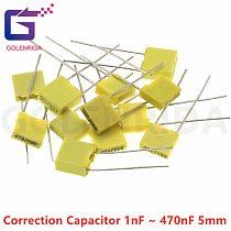 20pcs Polypropylene Safety Plastic Film  100V 1nF ~ 1uF 104J 100nf 220nf 10nf 47nf 22nf 1nf 0.47uf 0.1uf Correction capacitor