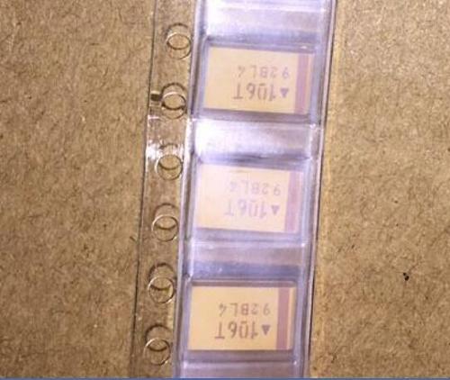 20pcs 7343 D 10UF 50V CHIP SMD tantalum capacitor