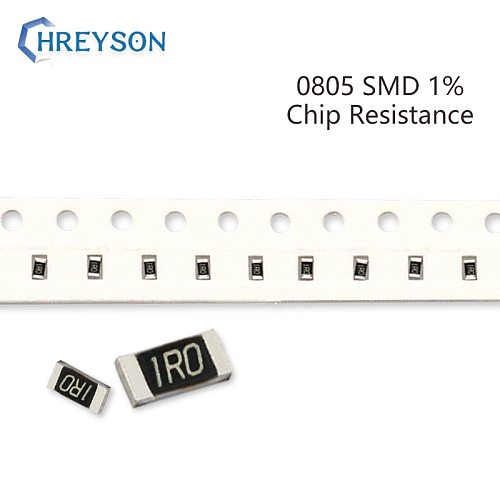 100Pcs 0805 SMD Resistor Kit 1% Tolerance 30.1K-22M 39K 48.7K 88.7K 210K 715K 5.1M 10 Ohm Electronic Components DIY Assorted Set
