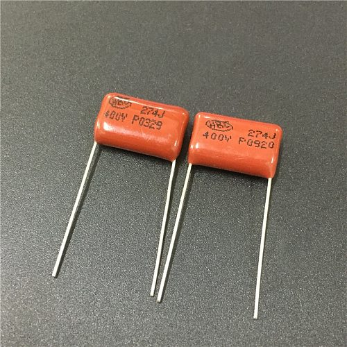 10pcs CBB capacitor 274 400V 274J 0.27uF 270nF P15 CL21 Metallized Polypropylene Film Capacitor
