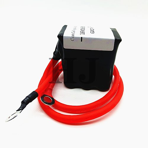 Automotive Rectifier 16V16.6F Super Farrah Capacitor Module 2.7100F Can Replace 16V20F