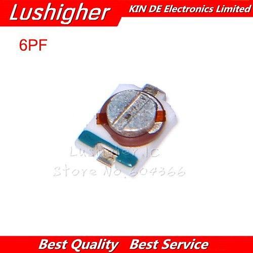 10pcs 3PF 6PF 10PF 20PF 30PF SMD Trimmer Adjustable Capacitor 3x4mm TZC3Z300A110 TZC3Z060A110 TZC3Z030A110 TZC3Z200A110