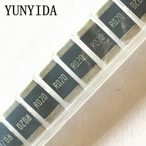 50PCS Chip resistor alloy  2512  0.02R  20mR  R020 1%