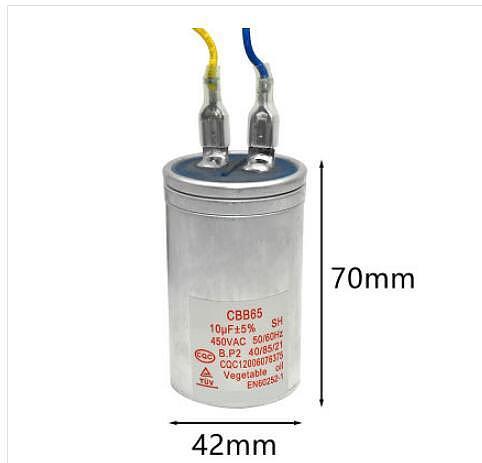 Automatic washing machine start capacitor CBB65 8/10/11 / 13UF / 15UF/16UF/20UF    machine  450V  500V