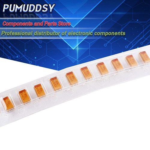 20PCS A 3216 10uF 10V 106 106C SMD tantalum capacitor