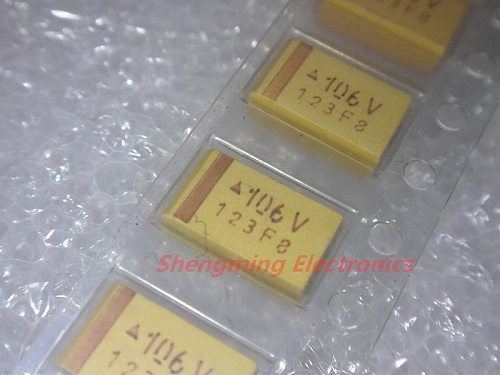 20pcs C6032 35V 10UF 106V C size SMD Chip Tantalum Capacitor