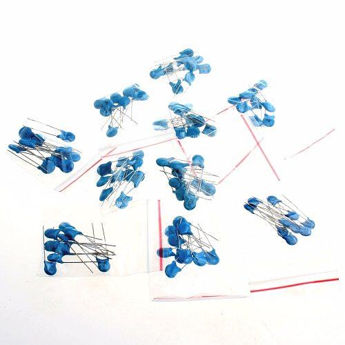 10 Type 2KV High Voltage Ceramic Capacitor Assortment Kit 2KV 102K 221K 332K 471K 472K 561K 681K 821K Ceramic Capacitors Set