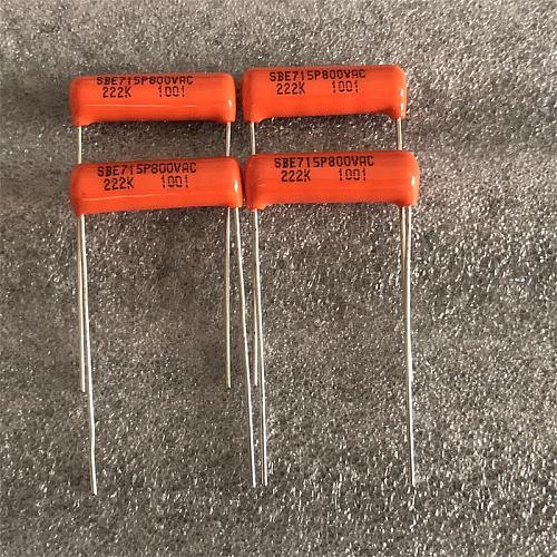 30pcs/lot original SPRAGUE 715P series tube amplifier coupled guitar film capacitor free shipping