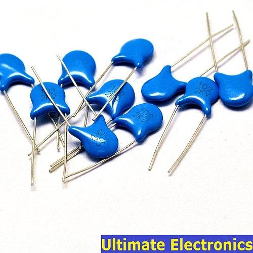 50pcs 1nF 102 2KV 1000pF 2000V High Voltage Ceramic Disc Capacitor
