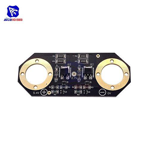 Super Farad Capacitor Balancing Voltage Regulator Protection Board 2PCS 2.7V 3000F Super Capacitor Protection Board