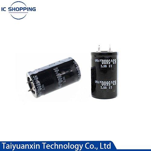 35V 50V 63V 80V 100V 160V Short Pin Aluminum Electrolytic Capacitor 1000 2200 4700 5600 6800 15000 22000 33000 47000UF
