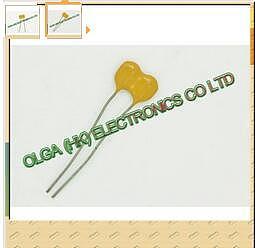 . 150pF / 500V 5% copper foot mica capacitors (0.15nF 151)