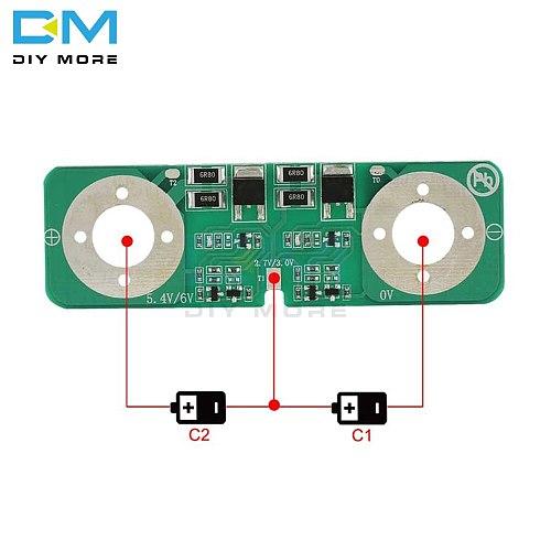 2.7V 2.85V 3V Pressure Plate Two Serial Strings 3000F Super Farad Capacitor Ultracapacitor Equalization Plate Board