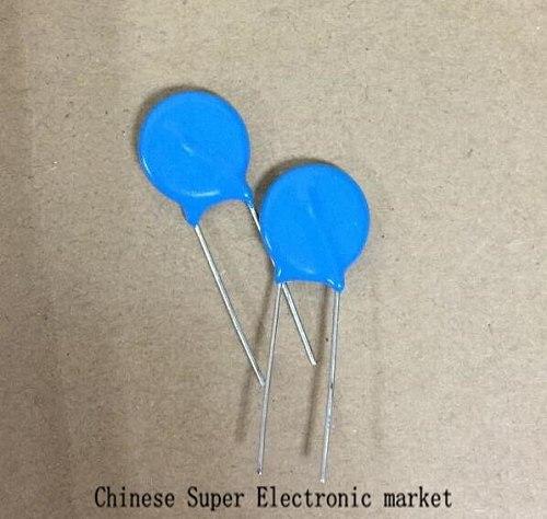 10PCS 390V Varistor 14D391K Metal Voltage Dependent Resistor DIP-2 14D391