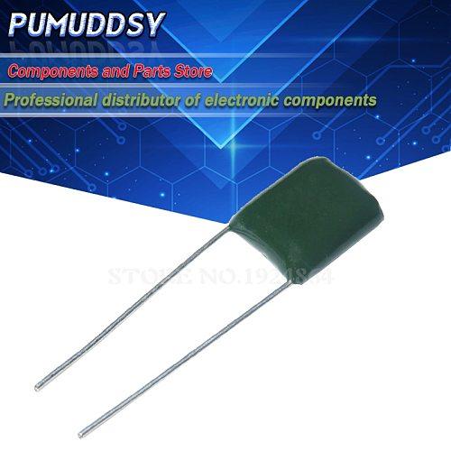 100PCS 2A473J 5mm 100V 47nF 473 Polyester Film capacitor