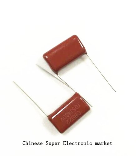 10PCS 400V105 1UF Pitch 20MM 400V 105 1000NF CBB Polypropylene film capacito