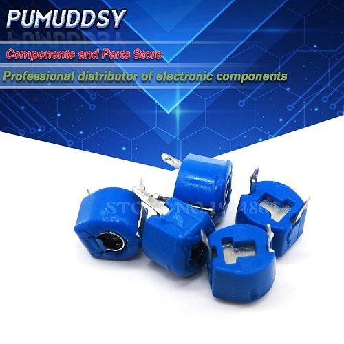 20PCS 5P 5PF 6mm JML06-1 JML06 DIP trimmer Adjustable capacitor