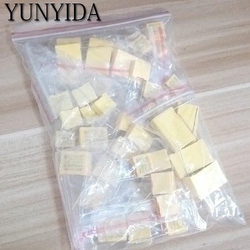 KIT   X2 Safety Capacitor 275VAC 102K-105K 1NF~1UF Assorted Kit 10valuesx5pcs=50pcs Polypropylene film capacitor
