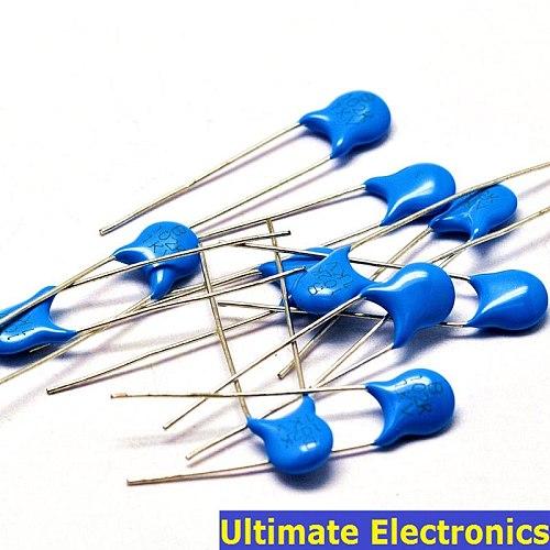 50pcs 1000pF 102 1KV 1nF High Voltage Ceramic Disc Capacitor