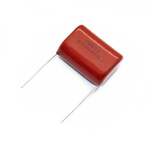 5PCS 630V475 4.7UF Pitch 25MM 630V 475 CBB Polypropylene film capacitor