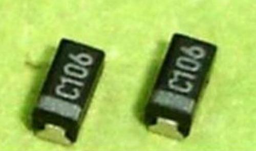 100 PCS 10 UF / 16 V A 3216 Chip tantalo capacitor C106 SMD 16 V 10 UF 3216