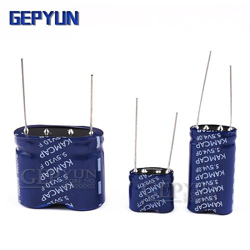 1PCS Super capacitor farad capacitor combination type Gepyun 5.5V 0.5F 1F 2F 3.5F 4F 5F 7.5F 10F 15F
