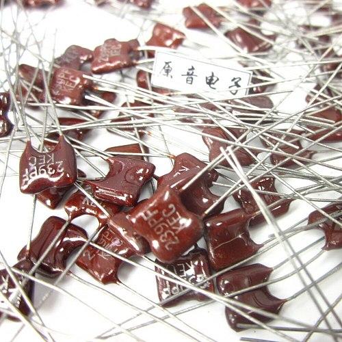 20PCS/50PCS Silver mica capacitors capacitance line fever KEC Mica 239PF 100V FREE SHIPPING