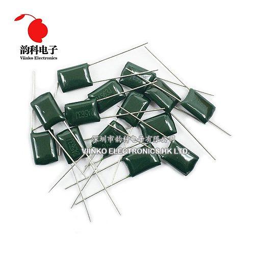 Polyester film capacitor 100V 1nF 1.5nF 2.2nF 100nF 220nF 2A102J 2A152J 2A222J 2A392J 2A103J 2A473J 2A104J 2A154J 2A474J