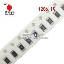 100pcs 1206 1% SMD resistor 1/4W 0.43R 0.47R 0.5R 0.51R 0.56R 0.62R 0.43 0.47 0.5 0.51 0.56 0.62 ohm