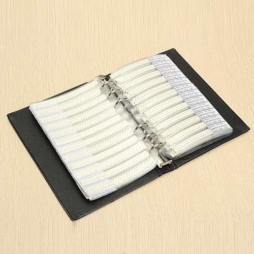 0603 SMD Capacitor Sample Book 90valuesX50pcs=4500pcs 0.5PF~2.2UF Capacitor Assortment Kit Pack