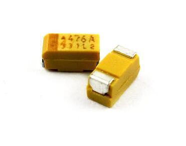 10PCS Tantalum Capacitor Type A 475 16V 4.7UF 16V SMD 3216 Capacitance 16V4.7UF 1206 Capacitors 4.7UF16V