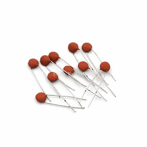 200PCS/LOT 50V 220PF 221 Ceramic Capacitor 50v 220pf Red DIP Capacitance