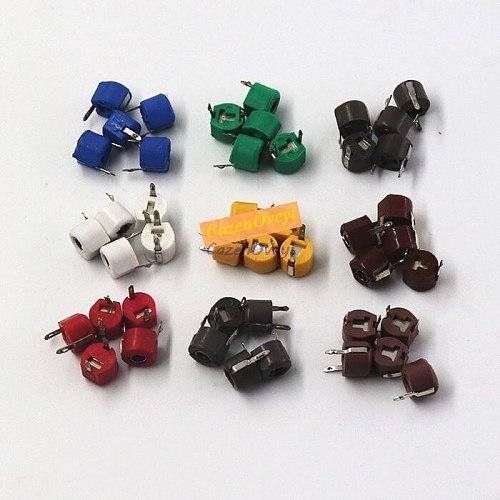 20pcs JML06-1 6mm 5PF 10PF 20PF 30PF 40PF 50PF 60PF 70PF 120PF trimmer Adjustable capacitor 5P 10P 20P 30P 40P 50P 60P 70P 120P