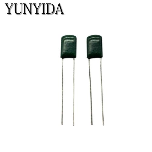 50 pcs   Polyester Film Capacitor   2A103J  100V  10NF  0.01UF  Free shipping