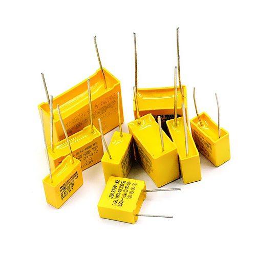 5pcs/lot X2 Safety capacitors 27.5mm 275VAC 275V 1.2uf 2uf 2.2uf 3.3uf 1.5uf 1uf 1000nF 1200nf Polypropylene film capacitor