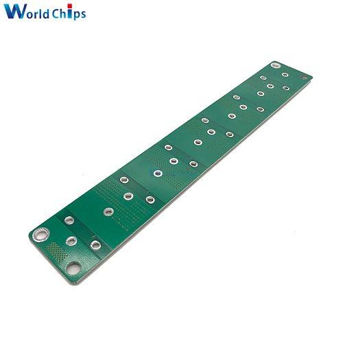 2.5 -3V 360F 400F 500F 700F 6PCS Single Row Super Farad Capacitor Balancing Protection Board Capacitor Protection Board Module