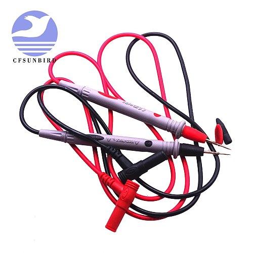 1000V Practical Multi Meter Test Pen Cable 110CM Universal Digital Multimeter Lead Probe Wire 20A