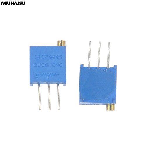 10Pcs/lot 3296W-1-101LF 3296W 101 100R ohm Top regulation Multiturn Trimmer Potentiometer High Precision Variable Resistor